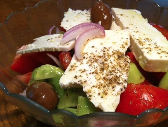 rezepte ohne kohlenhydrate griechischer bauernsalat