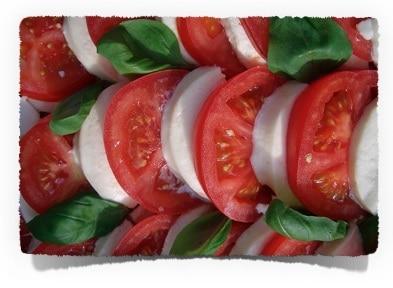 Low Carb Snack Rezept Tomate Mozarella