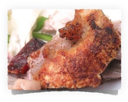 Rezepte ohne Kohlenhydrate: Schweinekrusten Chips | www.kohlenhydrate-tabellen.com
