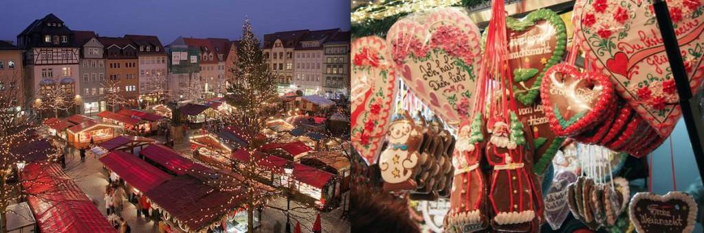ohne Kohlenhydrate auf dem Weihnachtsmarkt Adventszeit