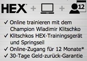 Klitschko Body Performance | Kosten Kohlenhydrate Tabelle