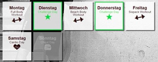 Klitschko Body Performance | Trainingsplan Kohlenhydrate Tabelle