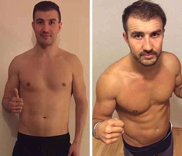 Klitschko Body Transformation vorher nachher Anton