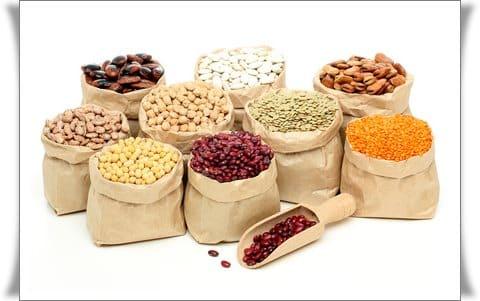 Nährwerttabelle Hülsenfrüchte Nüsse | www.kohlenhydrate-tabellen.com