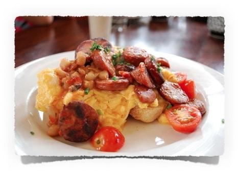 Low Carb Frühstück Rührei mit Chorizo | Kohlenhydrate Tabelle