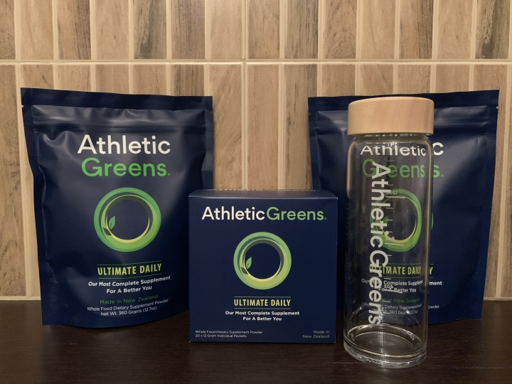 Athletic Greens: Test-Packung 2019