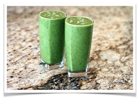 Veggie Athletic Greens Smoothie | Kohlenhydrate Tabelle