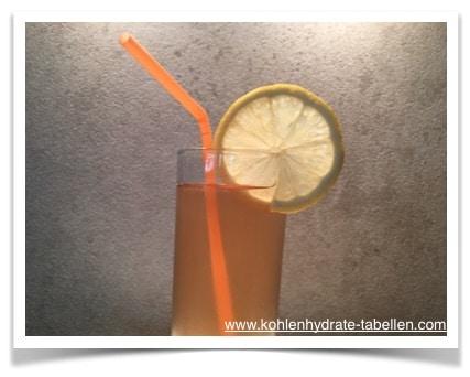Persilienhonigwein-Hildegard Spritzer | Kohlenhydrate Tabelle