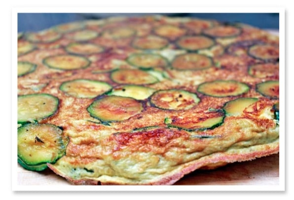 low carb rezept fr hst ck zucchini frittata. Black Bedroom Furniture Sets. Home Design Ideas