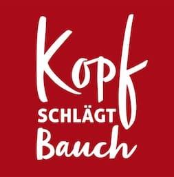 Kopf schlägt Bauch_Logo