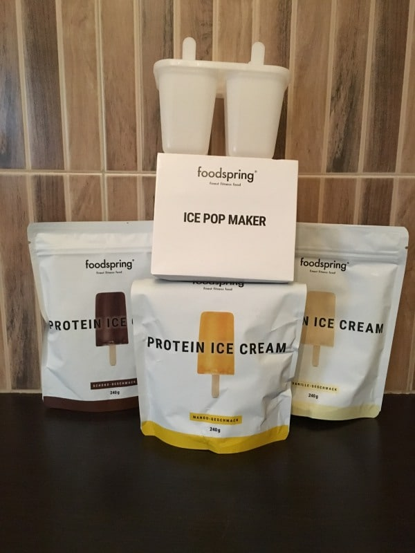 Foodspring Ice Cream Test Paket