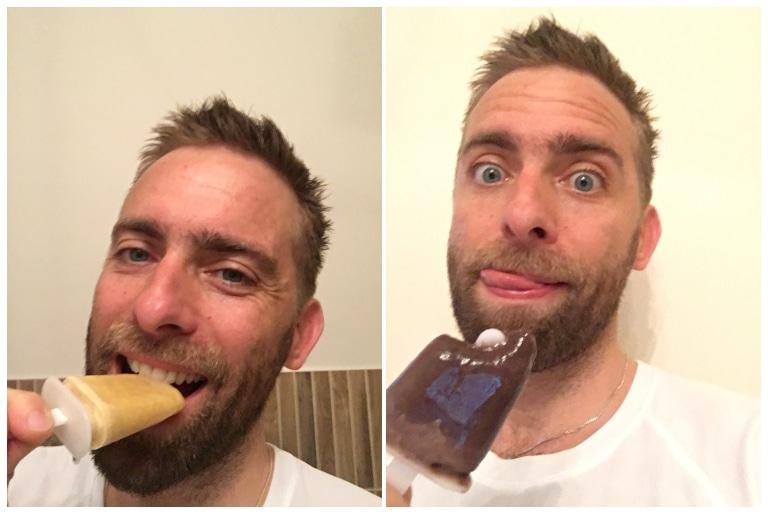 Foodspring Ice Cream Test: Maracuja und Schokolade