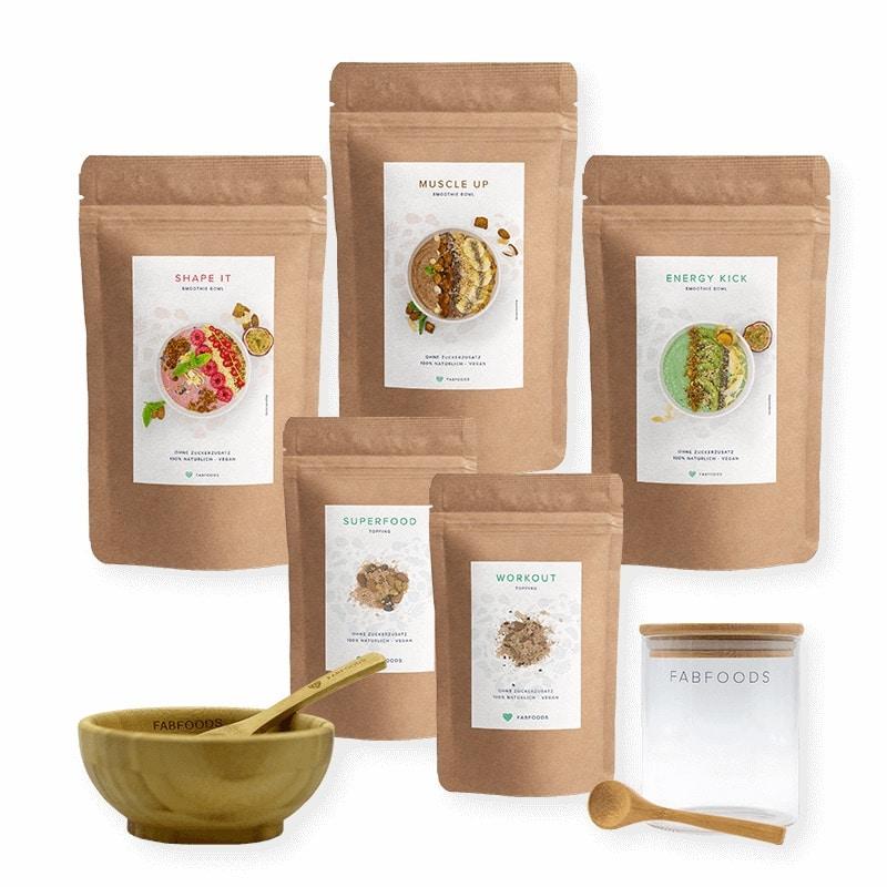 Fabfoods Starterpaket | Kohlenhydrate-Tabellen.com