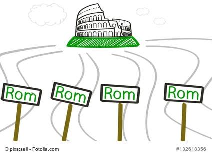 Viele Wege führen nach Rom | kohlenhydrate-tabellen.com
