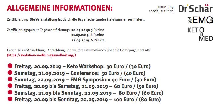 Ulrike Kämmerer Uni Würzburg Keto | Symposium 2019 (Preise)