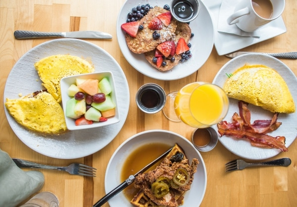 Frühstücken zum abnehmen | Kohlenhydrate-Tabellen.com