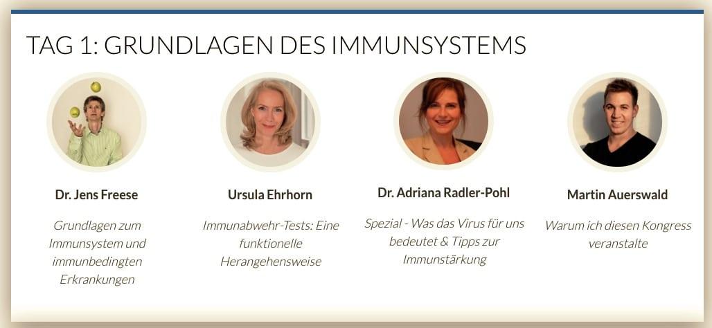 online Immunabwehr (Grundlagen) | Kongress 2020 Grundlagen Kohlenhydrate-Tabellen.com