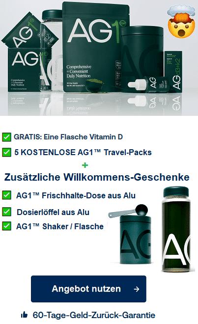 AG1 Angebot
